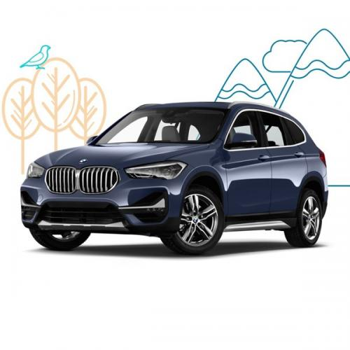 BMW X1 CB Template